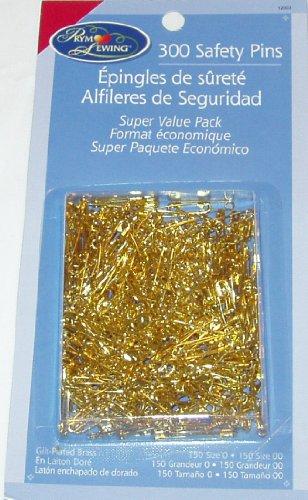 Brass Saftey Pins