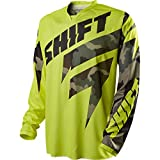 2015 Shift Recon Logo Jersey (M, Yellow Camo)