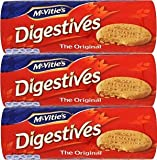 McVities Digestive Biscuits -400g 3 Pack, Original