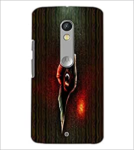 PrintDhaba Scary Image D-4006 Back Case Cover for MOTOROLA MOTO X PLAY (Multi-Coloured)