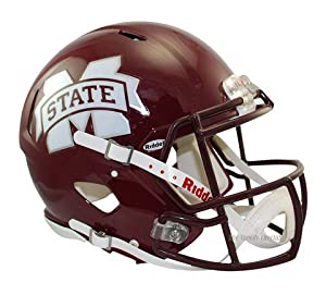 Mississippi State Bulldogs SPEED Revolution Authentic Football Helmet by Riddell