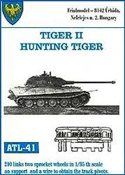Friulmodel Atl41 1/35 Metal Track W/Drive Sprockets For King Tiger & Jagdtiger Early