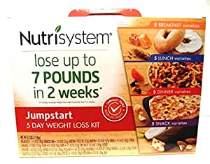 Average weight loss per week nutrisystem 5 day kit