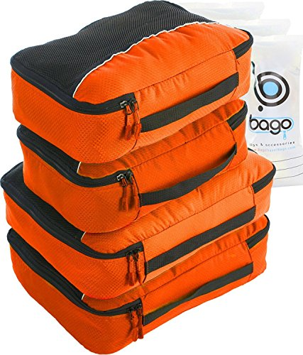 packwurfel-4pcs-wert-set-fur-reisen-plus-6pcs-gepack-veranstalter-zip-beutel-orange