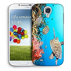 Snoogg Tortoise Printed Protective Phone Back Case Cover For Samsung S4 / S IIII