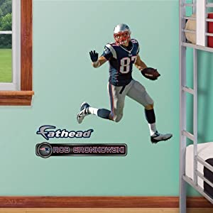 NFL New England Patriots Rob Gronkowski Junior Wall Graphics by Fathead