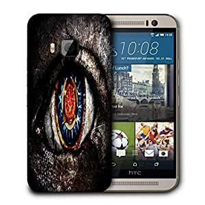 Snoogg Dangerous Eyes Printed Protective Phone Back Case Cover For HTC One M9