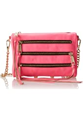 Rebecca Minkoff Mini 5 Zip Cross-Body Handbag