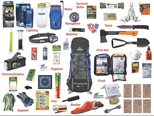 4.0 Emergency Kit Bag / Bug Out Bag / Survival Kit / Earthquake Kit