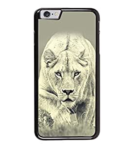 Fuson Premium 2D Back Case Cover leapord With Multi Background Degined For Apple iPhone 6 Plus