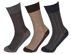 Abracadabra Men's Long Socks (Pack Of 3) (DNCS15010_Multi)