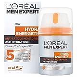 L'Oreal Men Expert Hydra Energetic Daily Anti-Fatigue Moisturizing Lotion, 1.6 Ounce (Tamaño: Anti-Fatigue Pump)