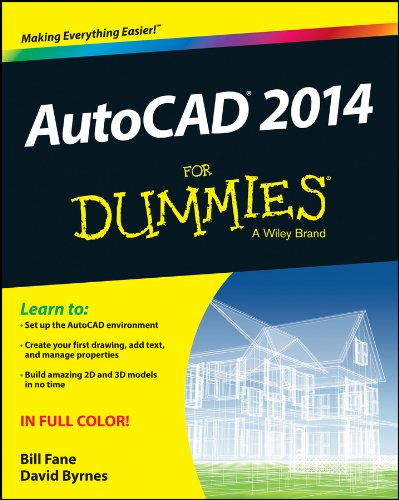 AutoCAD 2014 For Dummies Fully Coloured Illustrated Ebook