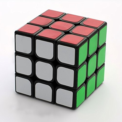3x3 Speed Cube Enhanced Edition Smooth Magic Cube Black (Japanese Robot Dog compare prices)