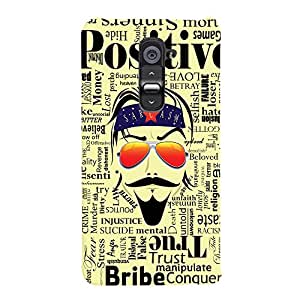 ColourCrust LG G2 / Optimus G2 Mobile Phone Back Cover With Sarcasm Quirky - Durable Matte Finish Hard Plastic Slim Case