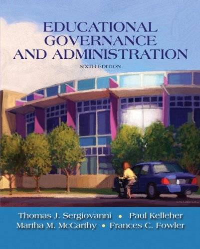 Educational Governance and Administration (6th Edition) PDF