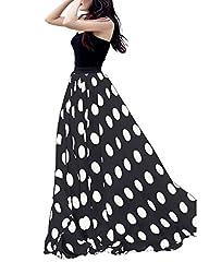 Women's Fashion Chiffon Polka Dot Pri…