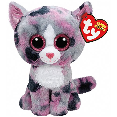 Ty Lindi Cat Plush, Pink, Regular