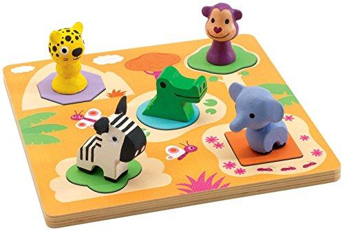 Djeco DJ01045 Wooden Puzzle- Mati Puzzle