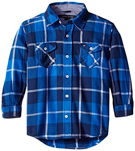 Tommy Hilfiger Little Boys Long Sleeve Keith Flannel Shirt