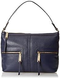Tommy Hilfiger Hobo Shoulder Bag, Navy, One Size