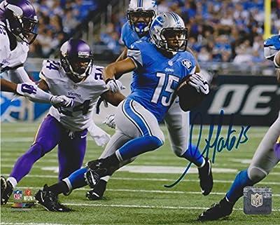 "Golden Tate III Detroit Lions NFL 11x14"" Autographed Photo"