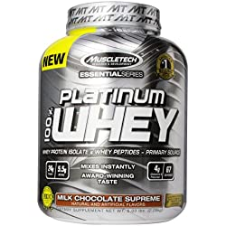 2-Pack  MuscleTech Platinum 100% Whey 5-lb. Tub - Multiple Flavours