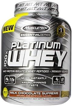 MuscleTech Platinum 100% Whey 5-lb. Tub