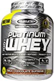 MuscleTech Platinum 100% Whey Protein Powder,  Milk Chocolate Supreme,  5.03 lbs (2.28kg)