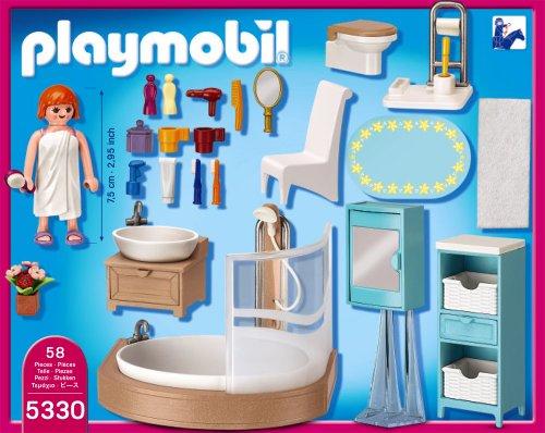 Playmobil 5330 badezimmer playmobil store for Badezimmer 5330