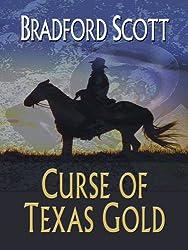 Curse of Texas Gold (Wheeler Large Print Western)