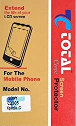 Total Care Screen Protector Scratch Guard For Sony Xperia C 2305