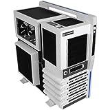 Thermaltake - Level 10 GT - Grande-Tour Boitier PC avec fenêtre (ATX / Micro-ATX / Extend-ATX) Blanc