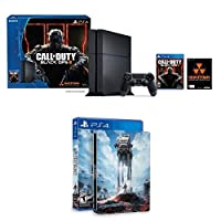 PlayStation 4 500GB Console - Call of Duty Black Ops III Bundle with Star Wars: Battlefront & Steelbook (Amazon Exclusive) from Sony