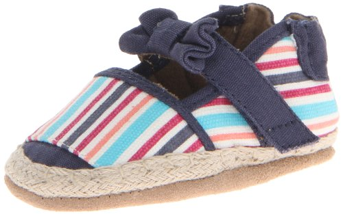 Robeez Colorful Espadrille Crib Shoe (Infant/Toddler)