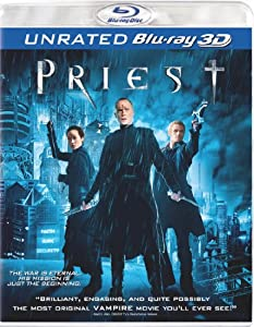 Priest (Unrated Version) [Blu-ray 3D] from Sony