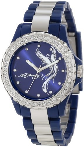 Ed Hardy Women's VX-BL Vixen Blue Watch