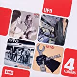 UFO Boxed Set 4CD No Heavy Petting/Lights Out/No Place to Run/Mechanix