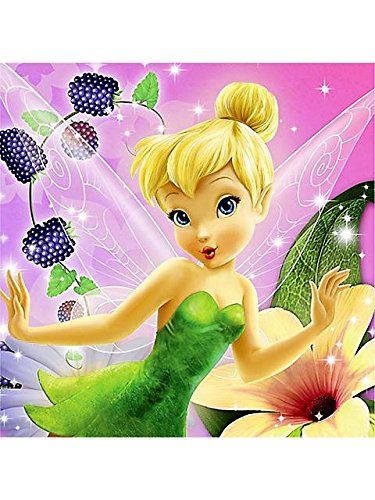 Tinker Bell Sweet Treats Beverage Napkin - 16/Pkg. - 1