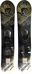 Buy Body Glove Blades Wakeskis (X-Large, Yellow Black) by Body Glove