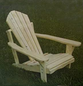 Childrens Classic Pine Adirondack Chair - 25 In by Summit Products