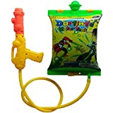 Darling Toys Ben10 Holi Water Gun With Tank Backpack