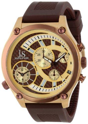 Joshua & Sons JS-13-BR - Reloj para hombres