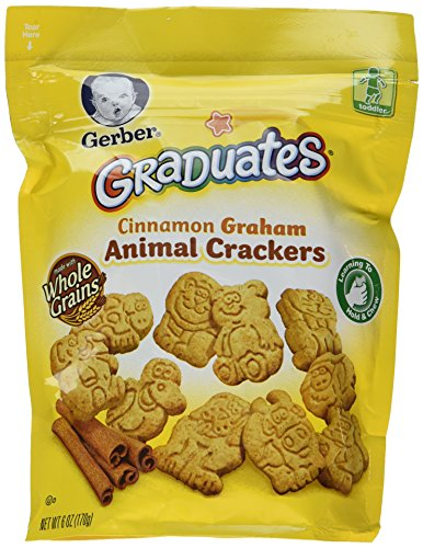 Gerber Graduates Animal Crackers-6 Ounces - 1
