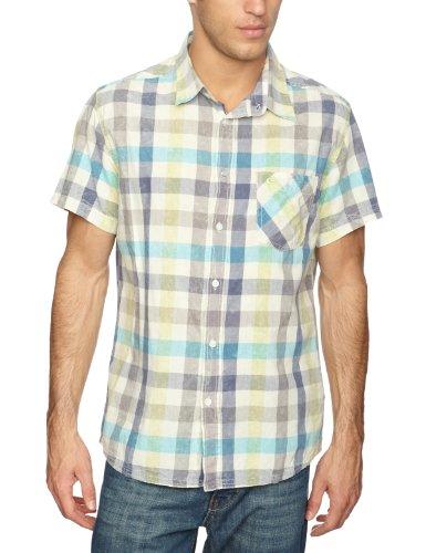 Quiksilver Allday Plain Men's T-Shirt Slate Medium