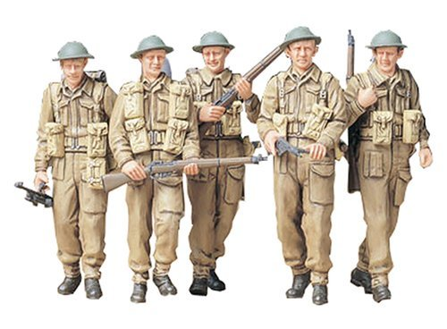 Buy Low Price Tamiya 35223 1/35 British Infantry Figure (B000LFWKXY)