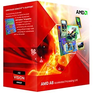 AMD AD3850WNGXBOX A-series A8-3850 2.9 GHz Socket FM1 100W Quad-core Desktop Processor