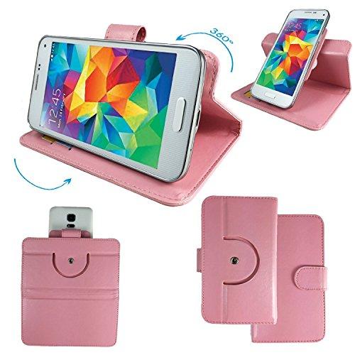 NO.1 N3 MTK6589T 5,7 Zoll IPS Smartphone Tasche / Schutzhülle mit 360° Dreh und Standfunktion - 360 Blau Nano XL