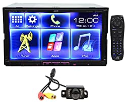 See Package: JVC KW-V50BT Double-Din In-dash Car DVD Receiver with 7