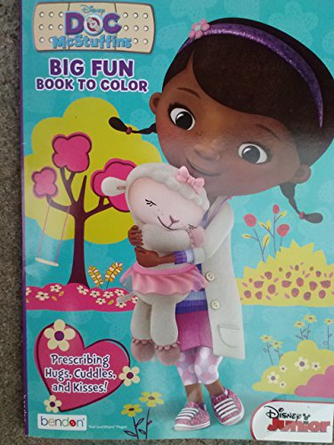 Doc McStuffins Big Fun Book to Color ~ Prescribing Hugs, Cuddles, & Kisses